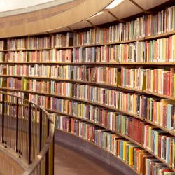 Library of books
