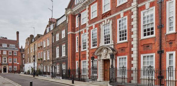 Edwardianised Cowley Street, Westminster. Horace Field 1903-1904